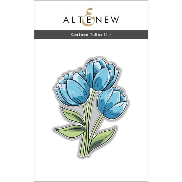 Cartoon Tulips, Altenew Dies -