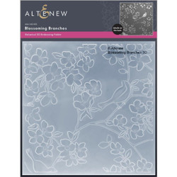 Blossoming Branches 3D, Altenew Embossing Folder -