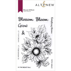 Blossom & Bloom, Altenew Clear Stamps -