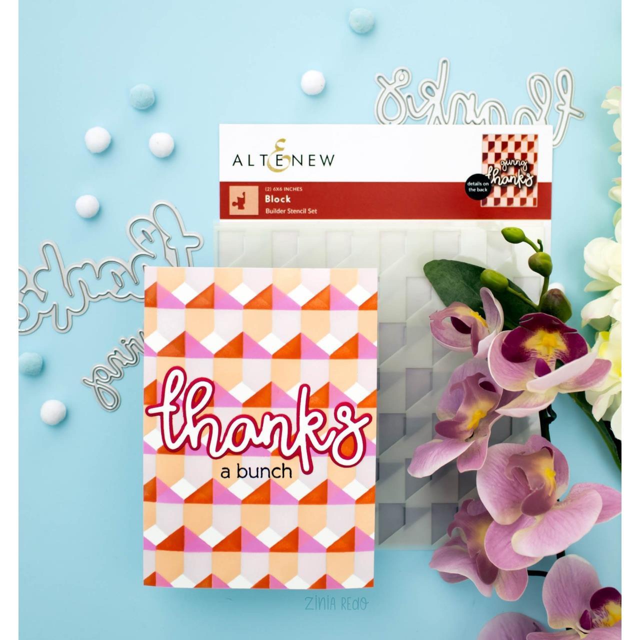 All About Thanks Word, Altenew Dies -