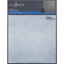 Linked Ovals 3D, Altenew Embossing Folder -