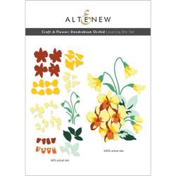 Craft-A-Flower: Dendrobium Orchid, Altenew Dies -