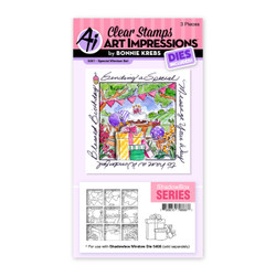 Special Window, Art Impressions Clear Stamps -