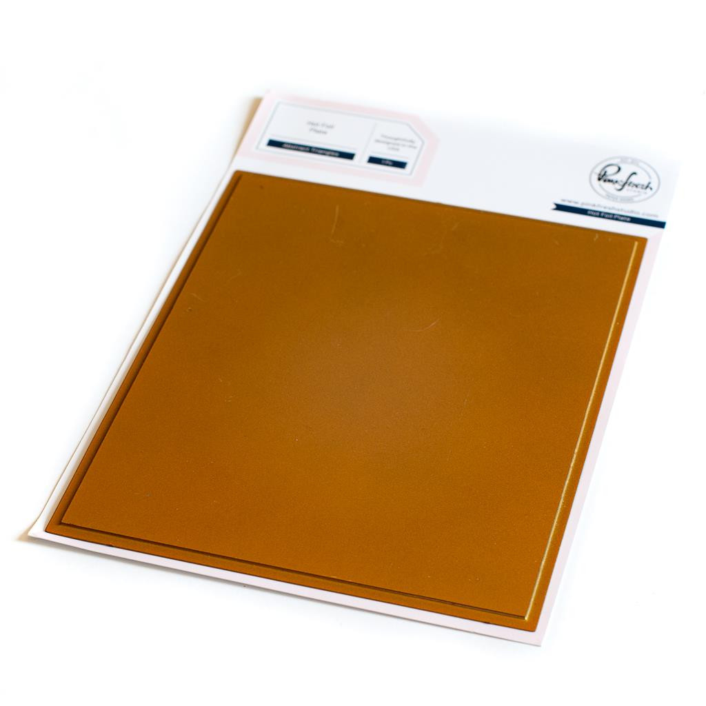 Solid Hot Foil Plate, Pinkfresh Studio Hot Foil Plates -