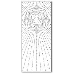 Slim Pinpoint Burst Plate, Memory Box Dies -