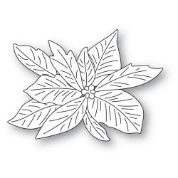 Layered Poinsettia, Memory Box Dies -