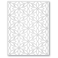 Pinpoint Daisy Background, Memory Box Dies -