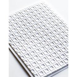 Geometric Crystals 3D, Memory Box Embossing Folders -