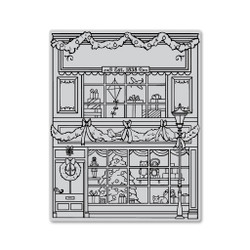 Gift Shop Background, Hero Arts Cling Stamps -
