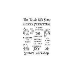 Hero Greetings Christmas Gift Shop, Hero Arts Clear Stamps -