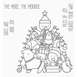 Piles of Joy, My Favorite Things Clear Stamps -