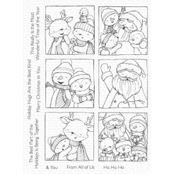 Selfies with Santa by Stacey Yacula, My Favorite Things Clear Stamps -