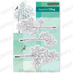 Woodsy, Penny Black Cling Stamps -