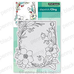 Winter Blooms, Penny Black Cling Stamps -