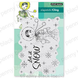 Sweet Snow, Penny Black Cling Stamps -