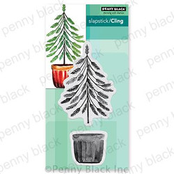 Timber & Tidings, Penny Black Cling Stamps -