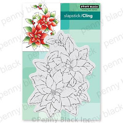 Camine, Penny Black Cling Stamps -