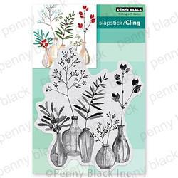 Festive Fragrance, Penny Black Cling Stamps -