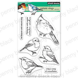Nature Sings, Penny Black Clear Stamps -
