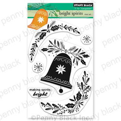 Bright Spirits, Penny Black Clear Stamps -