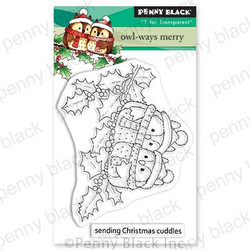 Owl-Ways Merry, Penny Black Clear Stamps -
