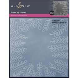 Frame of Leaves 3D, Altenew Embossing Folder -