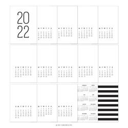 2022 Calendar, Concord & 9th Preprinted Calendar -