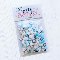 Winter Wonders, Pretty Pink Posh Clay Confetti -