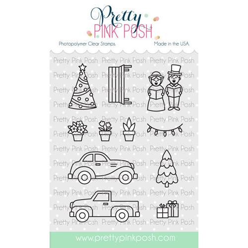 Village Additions, Pretty Pink Posh Clear Stamps -