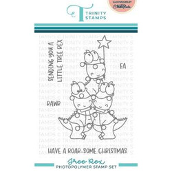 Tree Rex, Trinity Stamps Clear Stamps -