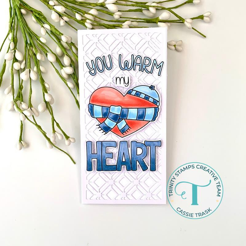 Warm Heart, Trinity Stamps Clear Stamps -