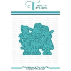 Christmas Cowolers, Trinity Stamps Dies -