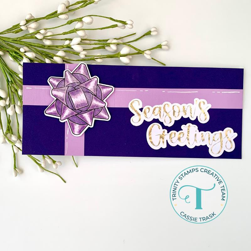 Big Bows Little Bows, Trinity Stamps Clear Stamps -