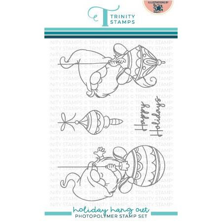 Holiday Hang Out, Trinity Stamps Clear Stamps -