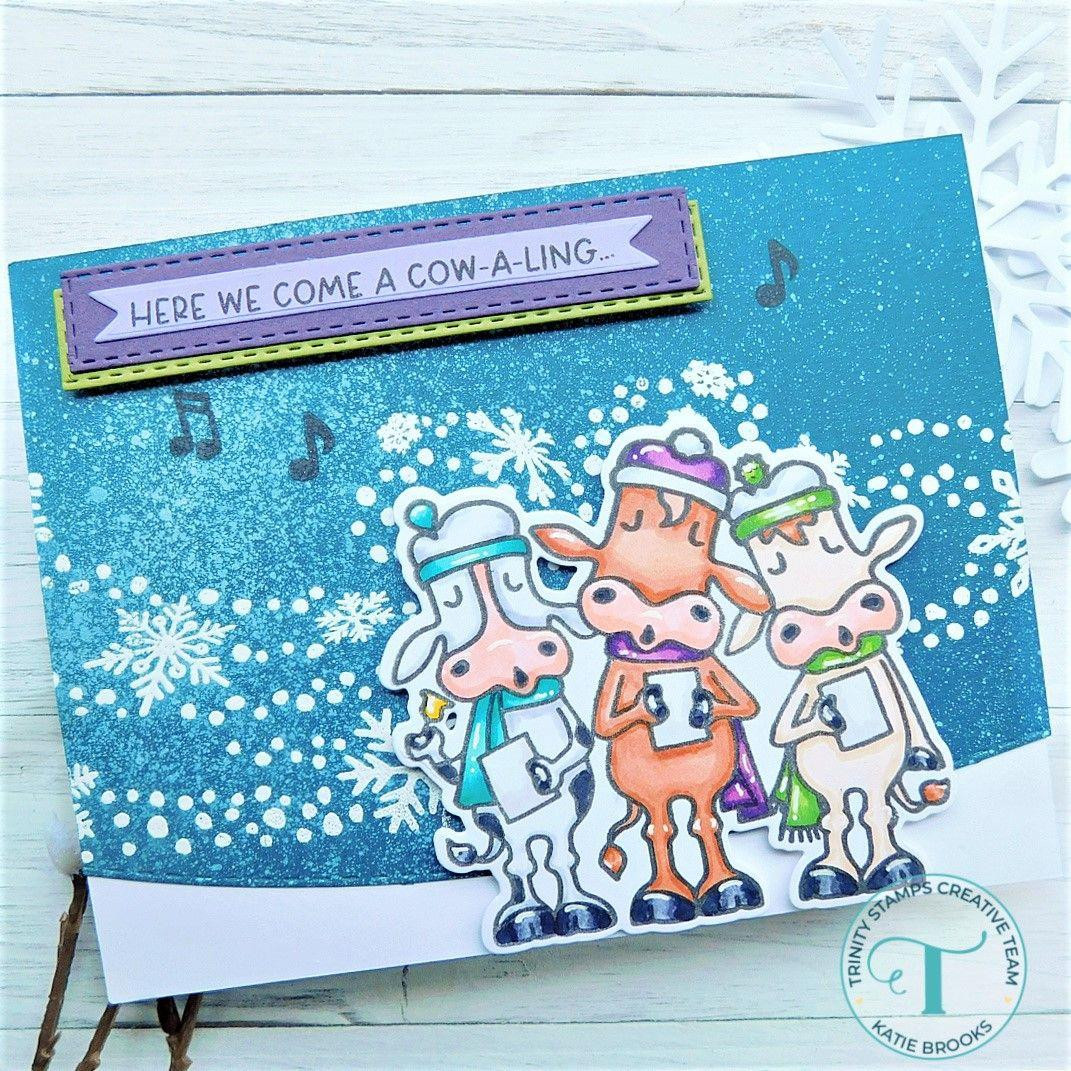 Winter Winds, Trinity Stamps Clear Stamps -