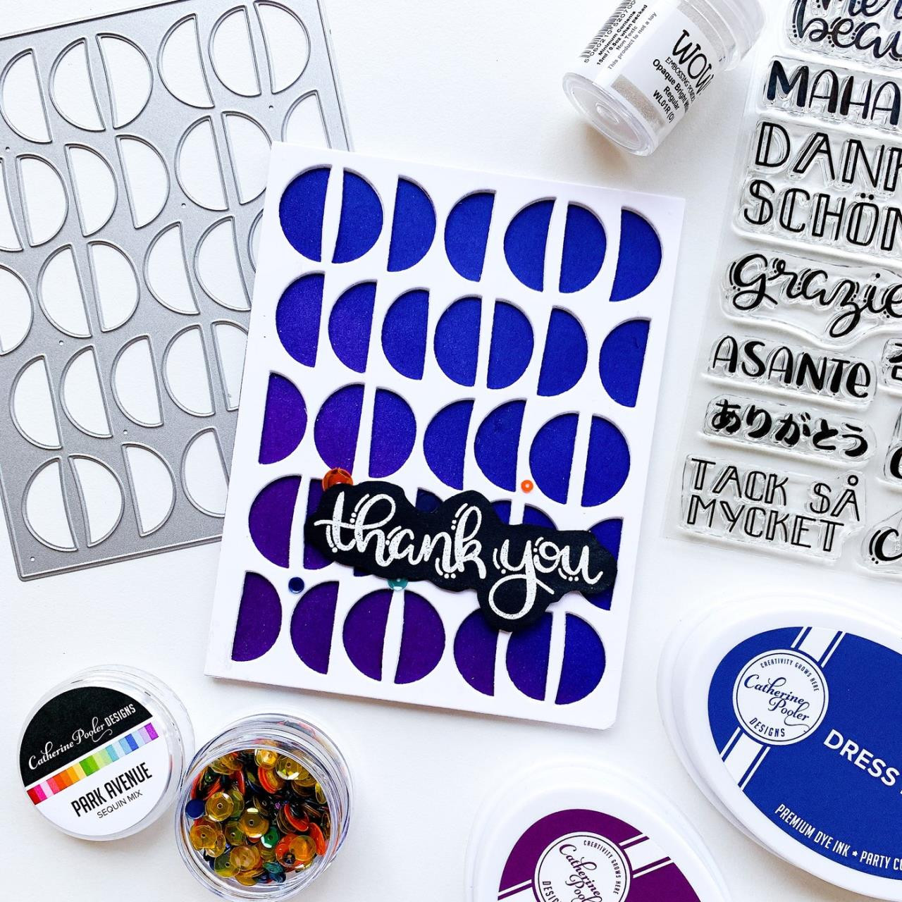 World of Thanks, Catherine Pooler Clear Stamps -
