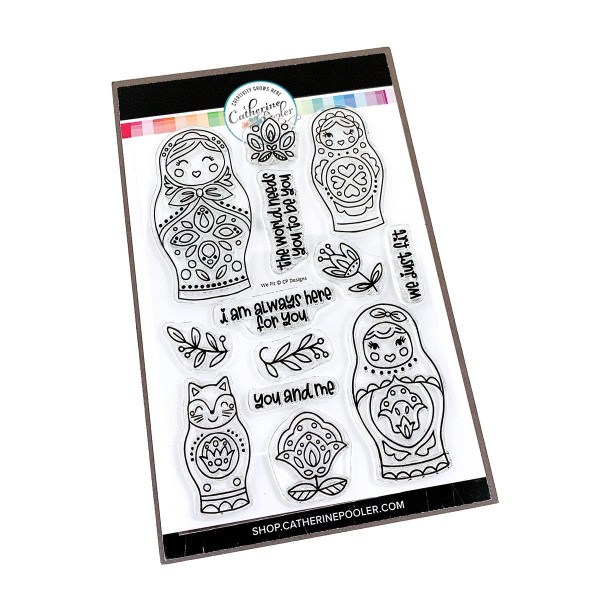 We Fit, Catherine Pooler Clear Stamps -