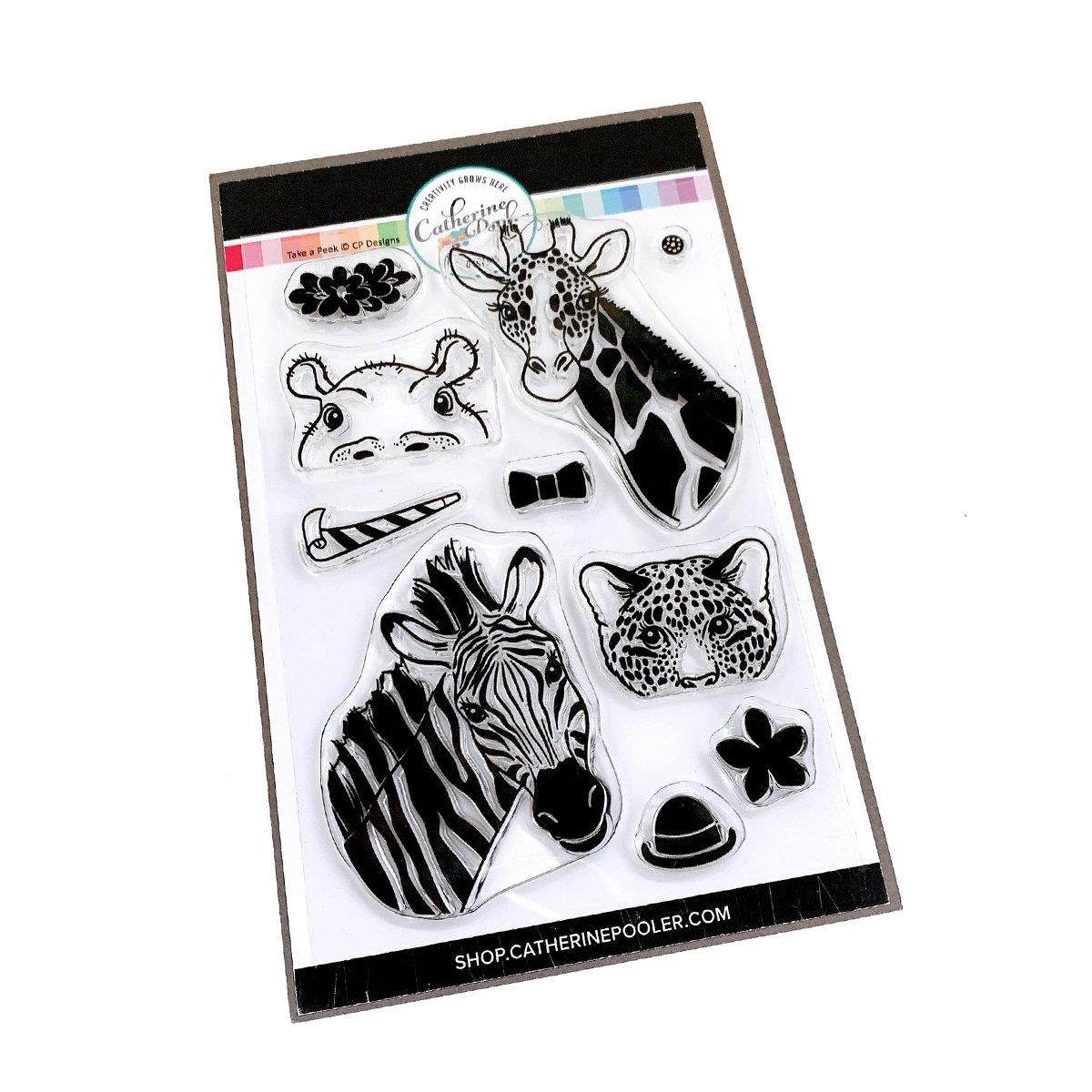 Take a Peek, Catherine Pooler Clear Stamps -