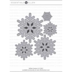 Snowflakes, Essentials by Ellen Designer Dies -