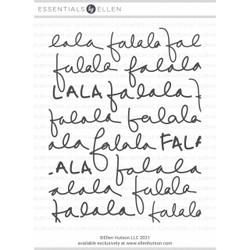 Fa La La, Essentials by Ellen Clear Stamps -