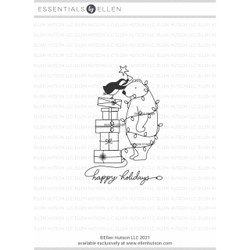 All Wrapped Up by Julie Ebersole, Essentials by Ellen Clear Stamps -