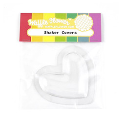 Puffy Heart, Waffle Flower Shaker Covers -