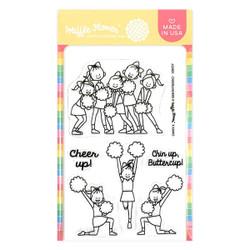 Cheerleaders, Waffle Flower Clear Stamps -