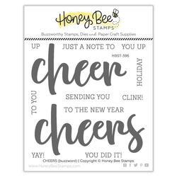 Cheers, Honey Bee Clear Stamps -