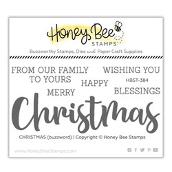 Christmas, Honey Bee Clear Stamps -