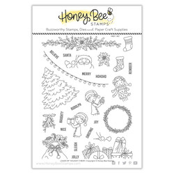 Loads of Holiday Cheer, Honey Bee Clear Stamps -