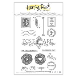 Post Perfect, Honey Bee Clear Stamps -