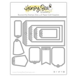 Tag Builder, Honey Cuts Dies -