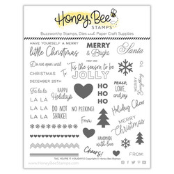 Tag, You're It: Holidays, Honey Bee Clear Stamps -