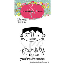 Frankly Mini, Colorado Craft Company Clear Stamps -